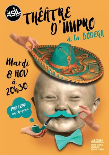 Les Mardis de l'Impro - Mardi 13 nov. 2016