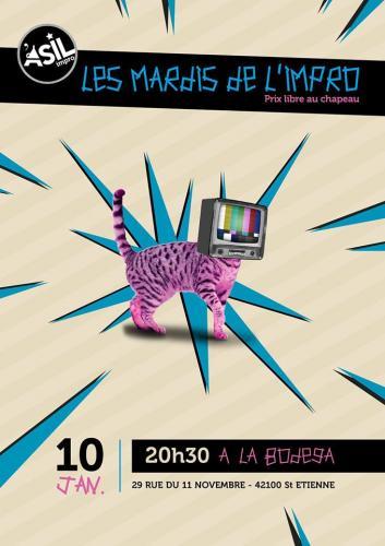 Les Mardis de l'Impro - Mardi 10 jan. 2017