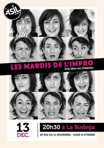 Les Mardis de l'Impro - Mardi 13 dec. 2016