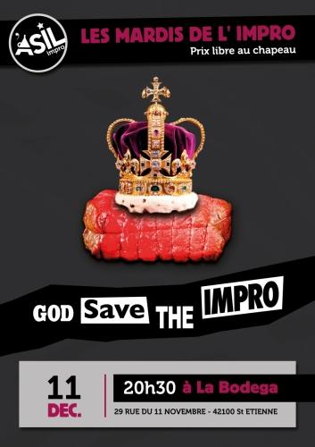 Les Mardis de l'Impro - Mardi 11 decembre 2018